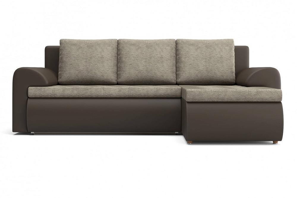 Угловой диван правый Цезарь (12) KUM 034/Kolej cp 536 фото