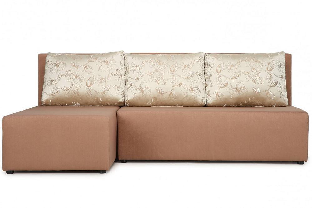 Угловой диван-кровать Комо (38) У(П)Л Bruno 3 Dark Beige/Бьянза 02 фото