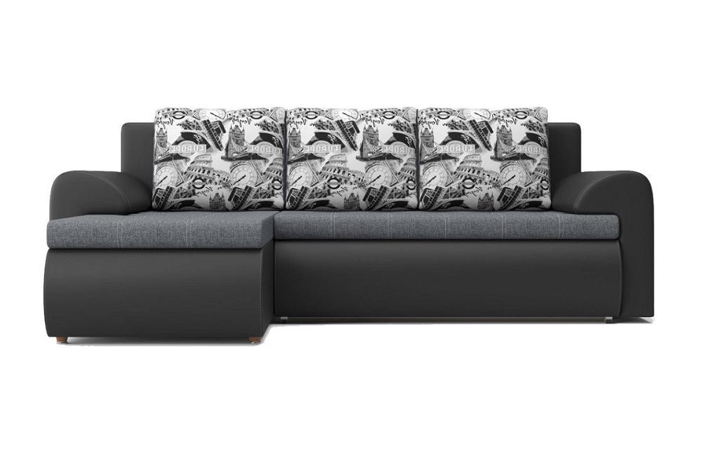 Угловой диван Цезарь (левый) Santana 19/Boston 14 фото