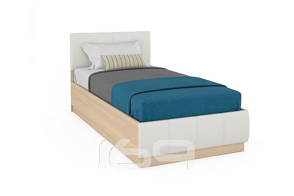 Купить Кровать одинарная NEW Линда 303 90 Дуб сонома в интернет магазине. Цены, фото, описания, характеристики, отзывы, обзоры