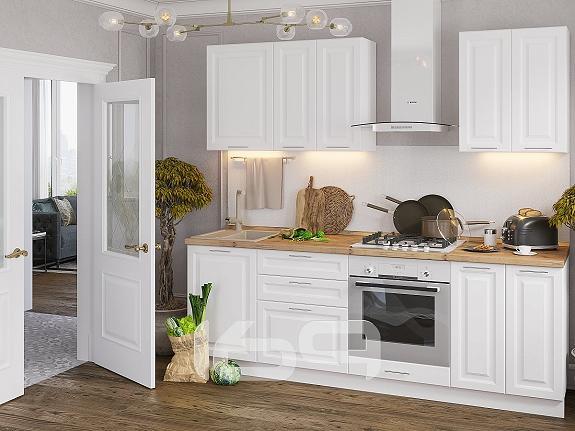 Купить Прямая кухня Ницца Royal-01 Blanco в интернет магазине. Цены, фото, описания, характеристики, отзывы, обзоры