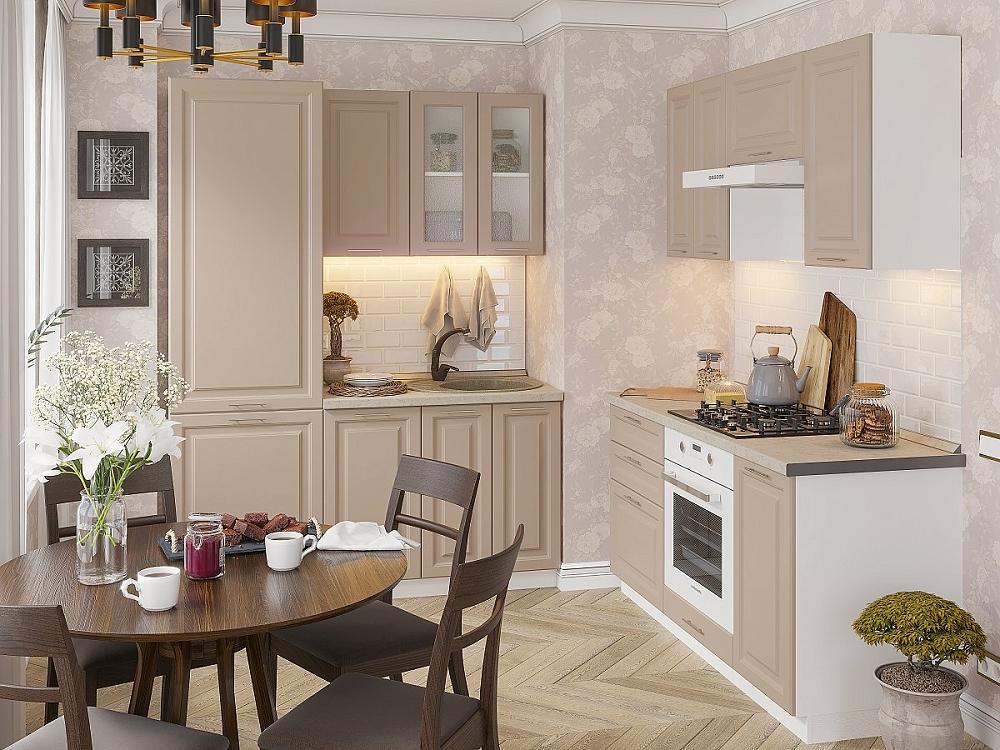Угловая кухня Ницца Royal-03 Omnia