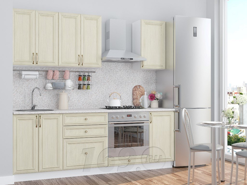 Прямая кухня Шале-01 Veneziano