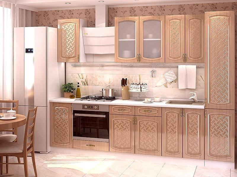 Прямая кухня Сити-06 Анегри