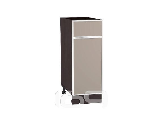 Купить Шкаф нижний с 1-ой дверцей и ящиком Фьюжн-AL-02 Н 301 Cappuccino-Венге в интернет магазине. Цены, фото, описания, характеристики, отзывы, обзоры