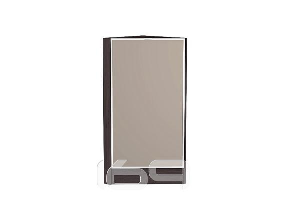 Купить Шкаф нижний торцевой Фьюжн-AL-02 НТ 300 Cappuccino-Венге в интернет магазине. Цены, фото, описания, характеристики, отзывы, обзоры