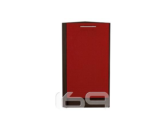 Купить Шкаф нижний торцевой Греция НТ 300 Гранатовый металлик-Венге в интернет магазине. Цены, фото, описания, характеристики, отзывы, обзоры