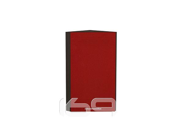 Купить Шкаф верхний торцевой Греция ВТ 230 Гранатовый металлик-Венге в интернет магазине. Цены, фото, описания, характеристики, отзывы, обзоры