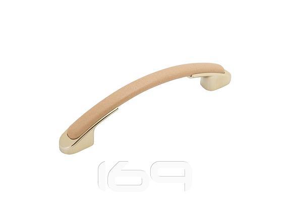 Купить Ручка скоба мебельная С2 Светлый венге/Золото в интернет магазине. Цены, фото, описания, характеристики, отзывы, обзоры