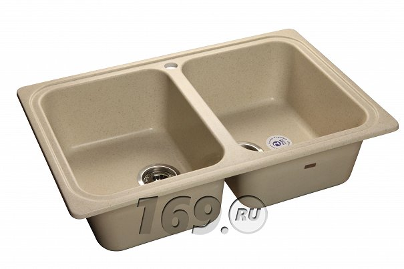 Купить Мойка врезная GranFest Standart GF-S780K бежевый в интернет магазине. Цены, фото, описания, характеристики, отзывы, обзоры