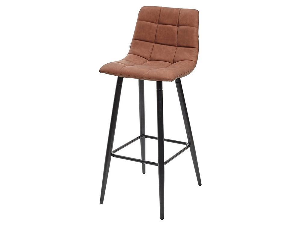 Барный стул SPICE RU-02 PU коричневый, PU фото