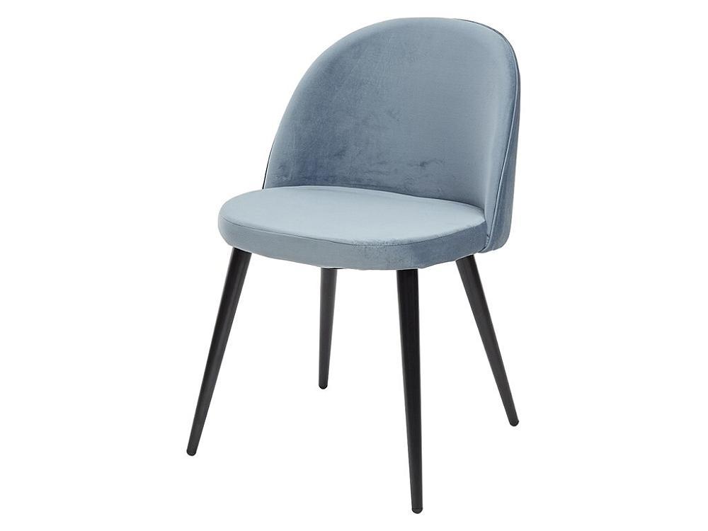 Стул JAZZ пудровый синий, велюр G108-56 фото