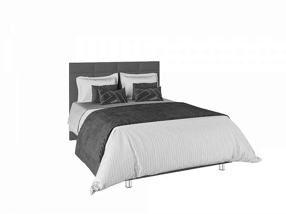 Кровать с подъемным механизмом Валенсия Grey на ножках 1,6м