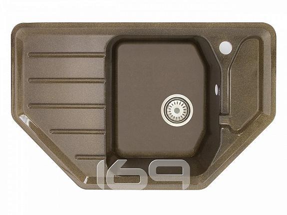 Купить Мойка врезная Vivat 794919 1Ч2К Шоколадный в интернет магазине. Цены, фото, описания, характеристики, отзывы, обзоры