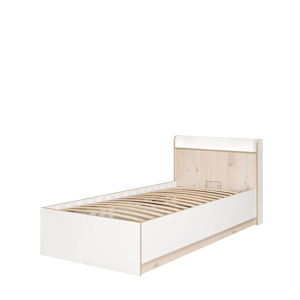 Веста Кровать 11.14 90х200 (цена без ортопеда и подъемного механизма)