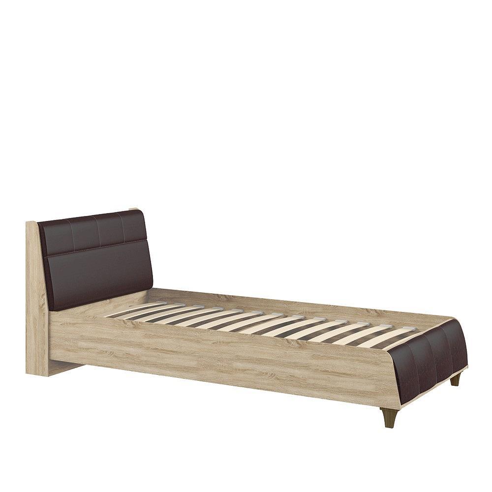 Купить со скидкой Кровать односпальная Келли 90 Дуб сонома