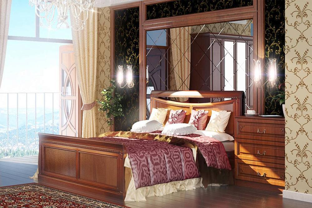 Спальня Диметра-02 Итальянский орех