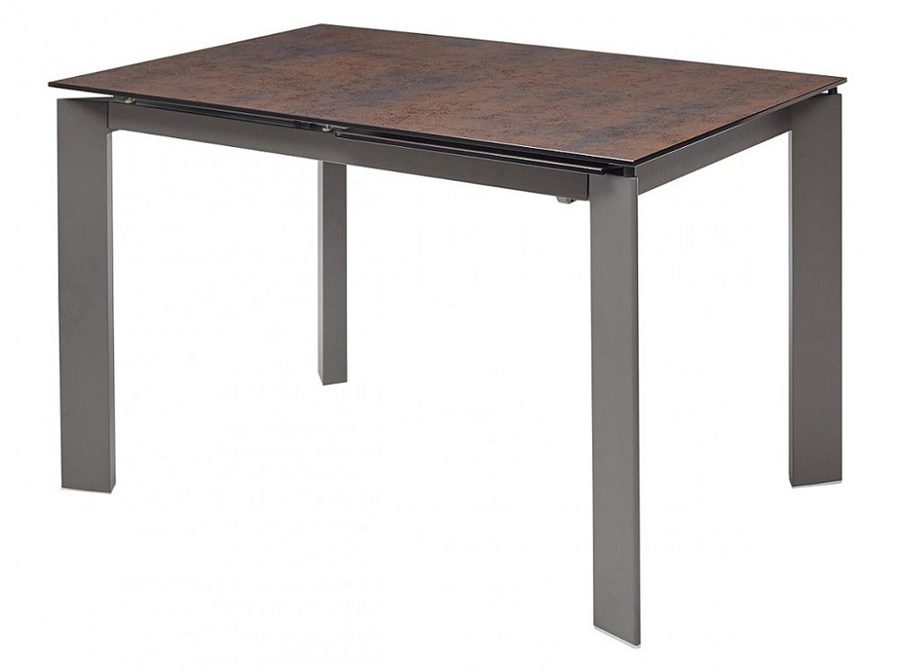 Стол CORNER 120 Glazed Glass Moss+Grey1 фото