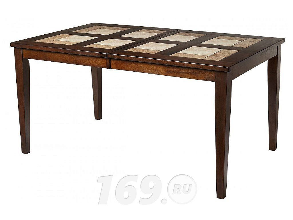 Стол LT T13271 HONEY OAK #K115/ плитка 2 тона Cosmo, Antige Leather