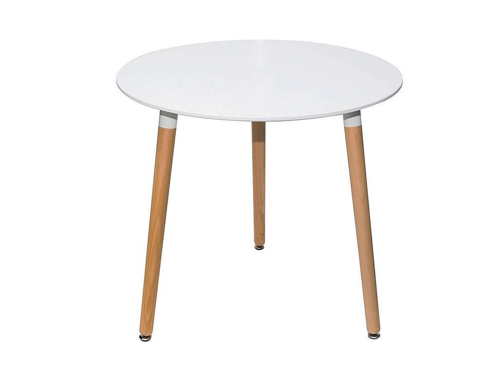 Стол Пиза круглый Белый