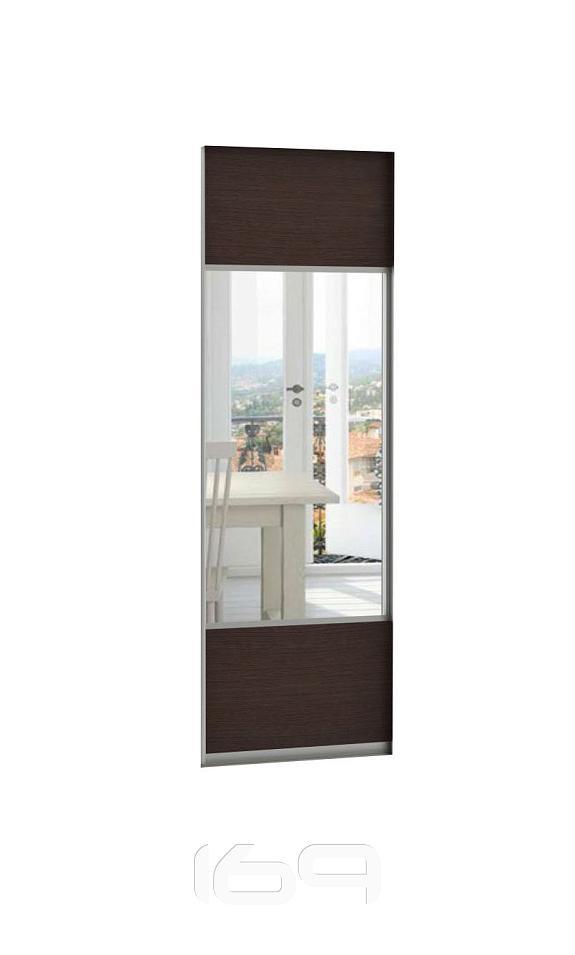 Купить Дверь Комби 60 Венге  Н240 в интернет магазине. Цены, фото, описания, характеристики, отзывы, обзоры