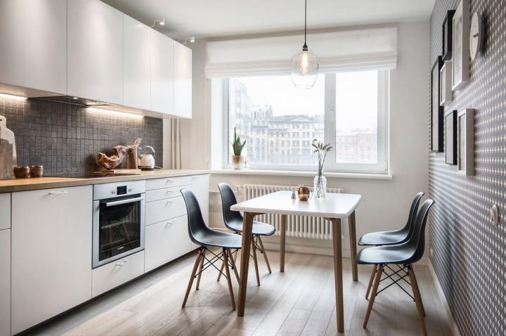 Скандинавский стиль в оформлении кухни