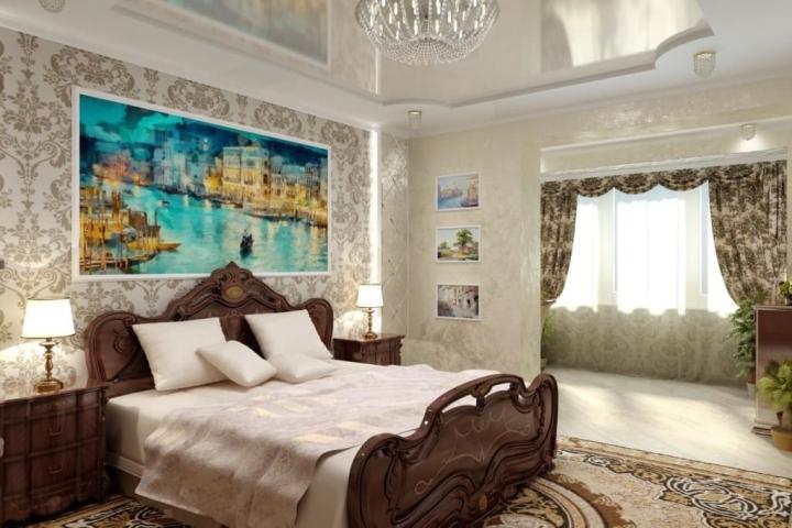 Картина с изображением любимого места отдыха