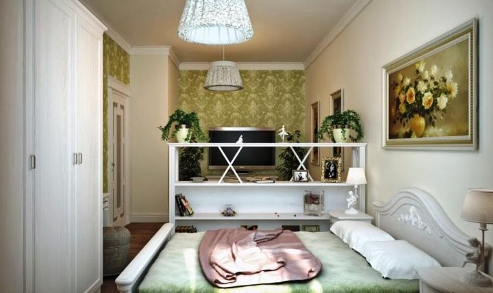 Спальня гостиная в стиле прованс