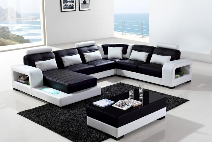 П-образный диван с декоративной подсветкой Андреас Sitdown
