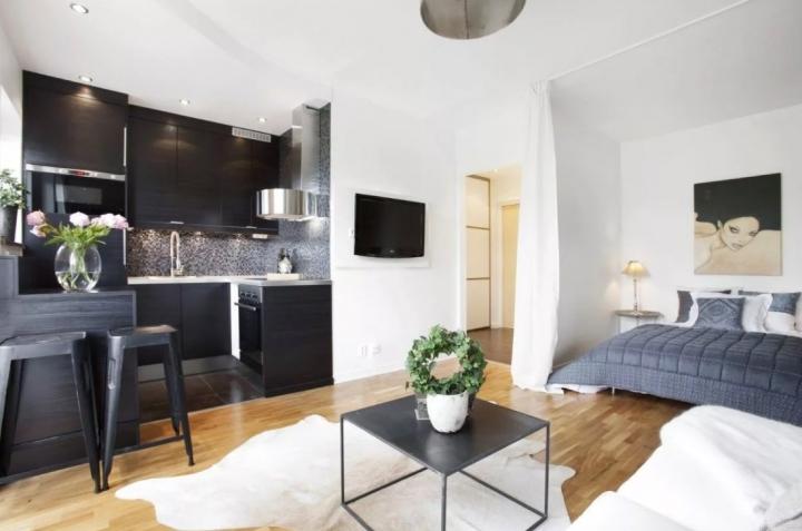 Маленькая квартира - большие возможности