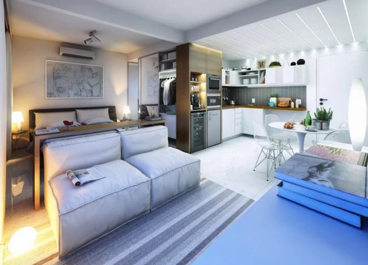 Как задействовать пространство квартиры по максимуму