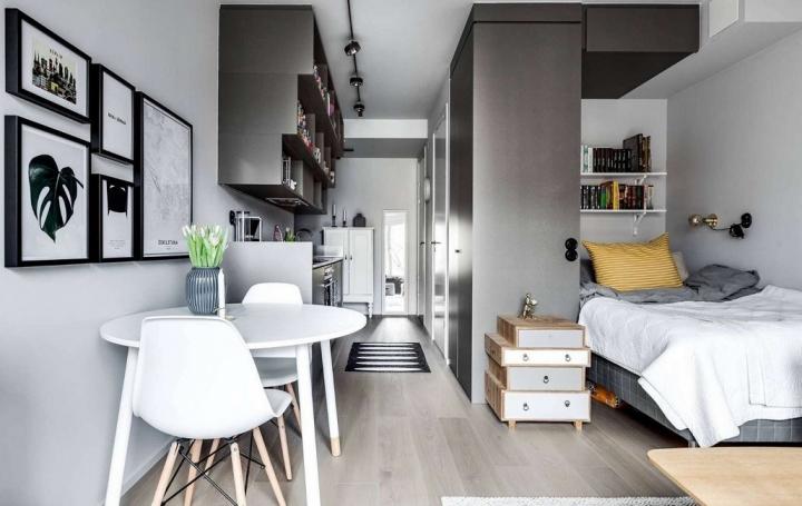 Шикарные апартаменты из крохотной квартиры