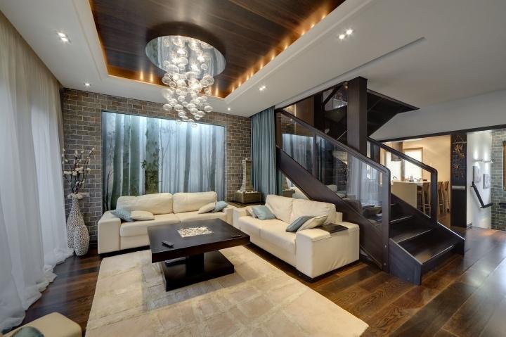 Гостиная в частном доме