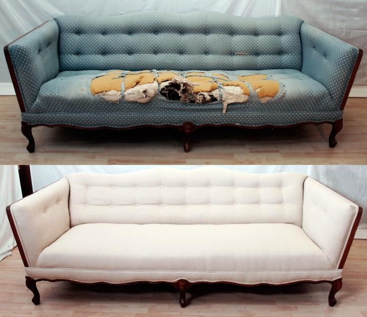 Обновляем не только диван, но и интерьер в целом